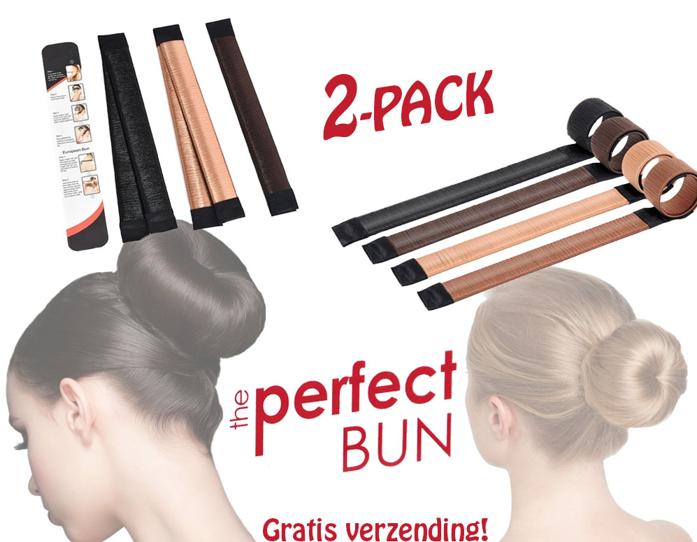 Click to Buy - 2-Pack Easy Hair Bun Makers