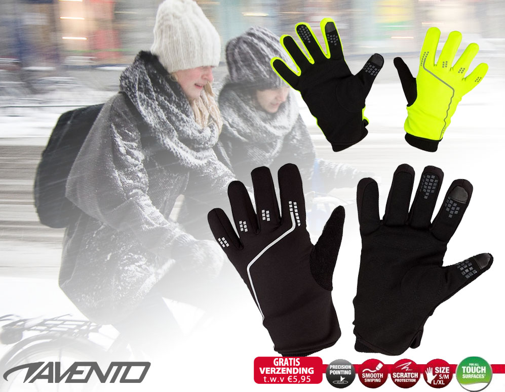 Click to Buy - Avento Thermo Sport Handschoenen