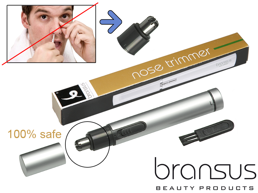 Click to Buy - Bransus Neushaartrimmer met LED