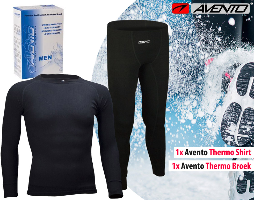 Click to Buy - Complete Avento Thermo Running Under-Outfit