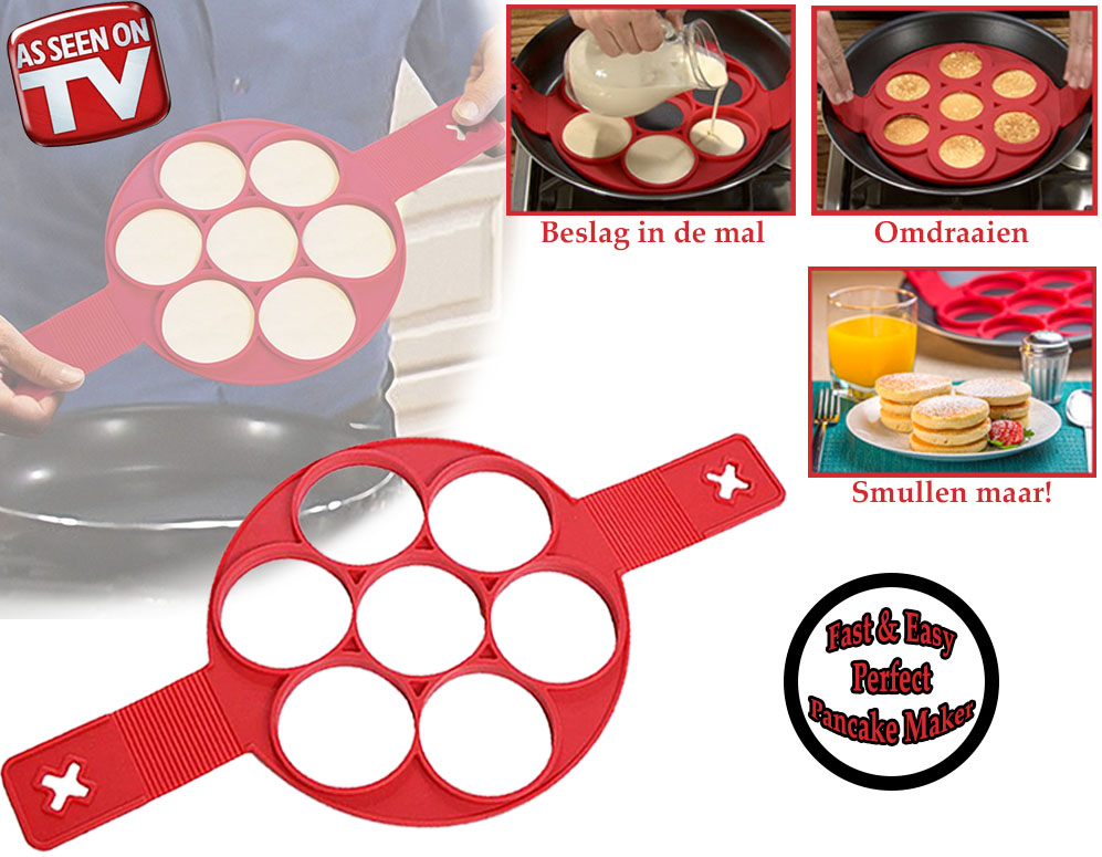 Click to Buy - Fast and Easy Perfect Pancake Maker