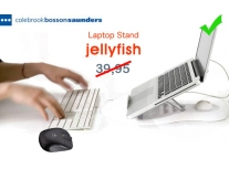 Click to Buy - Jellyfish Laptop Standaard