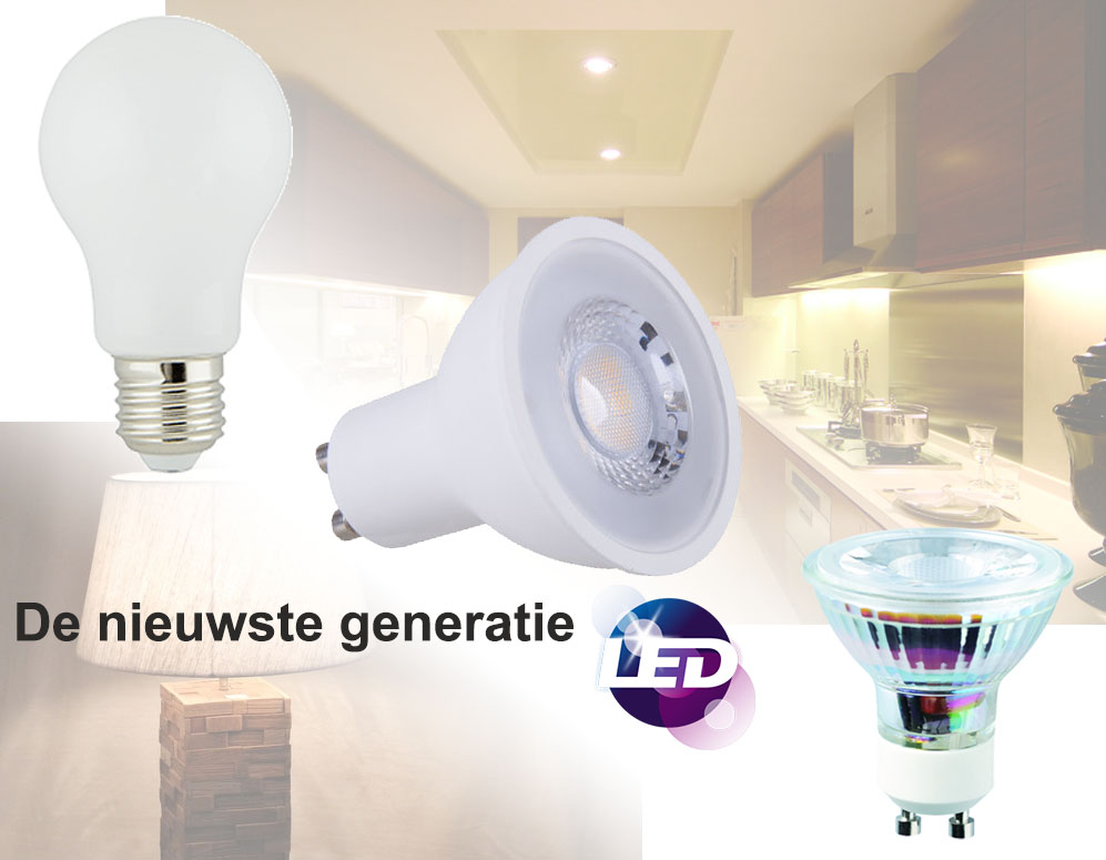 Nieuwste generatie e27 en gu10 led lampen dagelijkse for Lampen click
