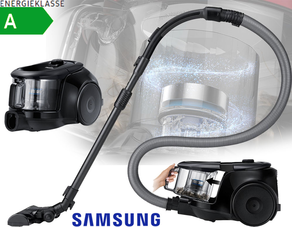 Click to Buy - Samsung Cyclone Stofzuiger VC07M21A0VG