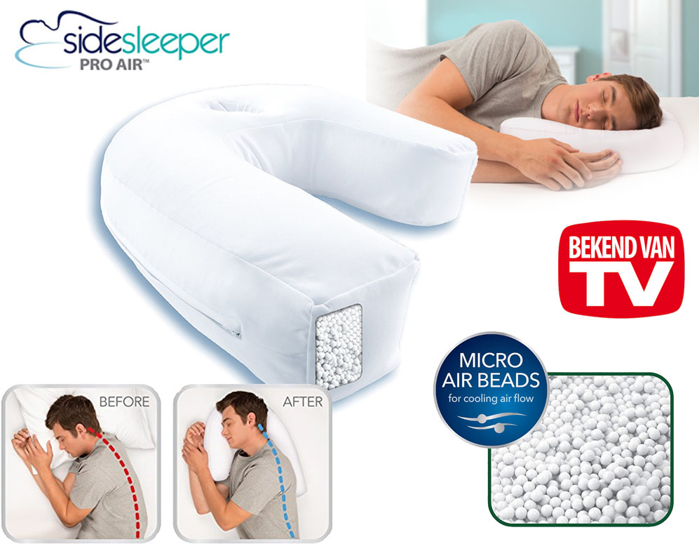 Click to Buy - Side Sleeper Pro Air Kussen