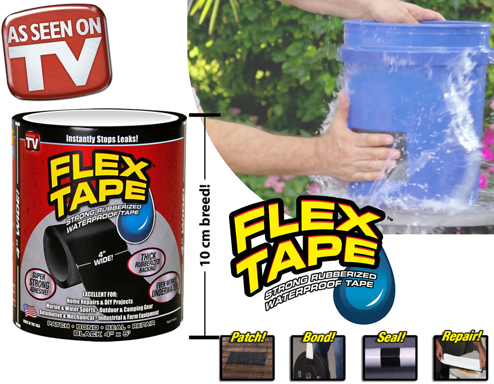 Click to Buy - Waterproof Flex Tape