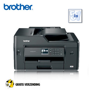 Dagknaller - Brother Mfc-J6530dw All-In-One A3 Inkjetprinter Met Wifi En Fax (5 In 1)
