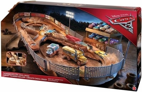 Dagknaller - Disney Cars 3 Thunder Hollow Crash-Arena (Gratis Verzending)