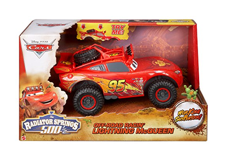 Dagknaller - Disney Cars Off Road Racin' Lightning Mcqueen Toy