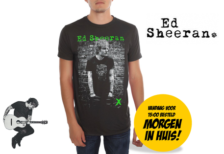Dagknaller - Ed Sheeran Bricks T-Shirt - M/L