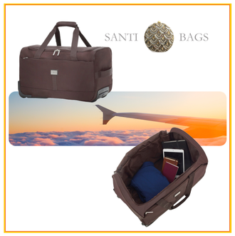 Dagknaller - I Santi Exclusive Travel Bag Met Wieltjes