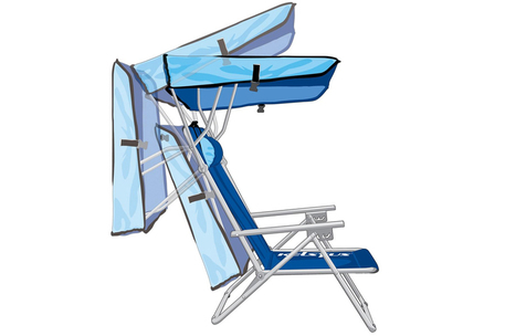 Strandstoel Met Luifel.Kelsyus Beach Canopy Chair Dagknaller