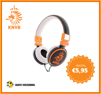 Dagknaller - Knvb On-Ear Headphones