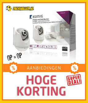 Dagknaller - Konig Ip Baby And Child Monitor Kn-Bm60