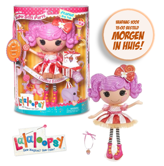 Dagknaller - Lalaloopsy Super Silly Party Doll - Peanut Big Top 30Cm