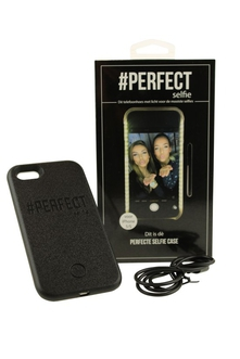 Dagknaller - Perfect Selfie Case Iphone 6(S) - Zwart