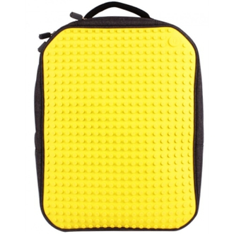 Dagknaller - Pixel Backpack Black/Yellow