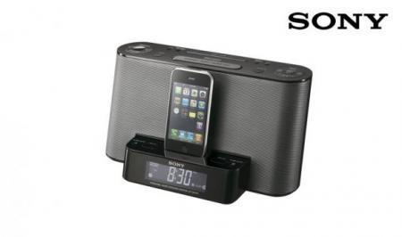 Sony Ipod/iphone Dock Met Klokradio