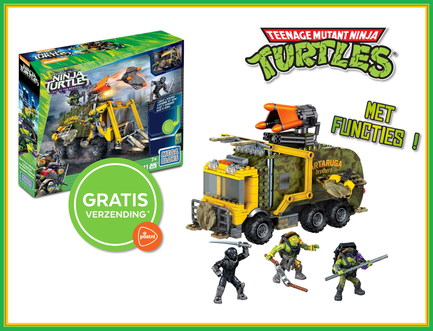 Dagknaller - Teenage Mutant Ninja Turtles Legertruck