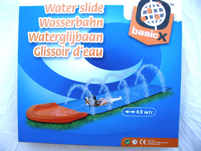 Waterglijbaan 4 9 meter dagelijkse koopjes en internet for Action printpapier