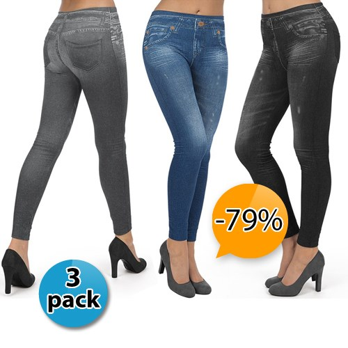 Deal Digger - 3-Pack Corrigerende Jeggings