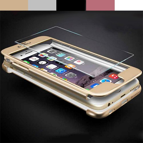 Deal Digger - Full-Body Iphone Case Met Tempered Glass - Nooit Meer Krassen Of Barsten!