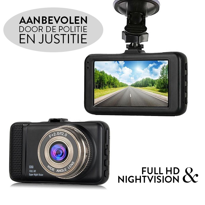 Deal Digger - Professionele Dashcam Normaal Of Full Hd + Night Vision