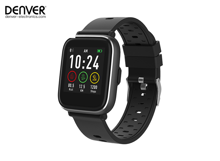 Deal Donkey - Denver Sw-161 - Smartwatch - Zwart