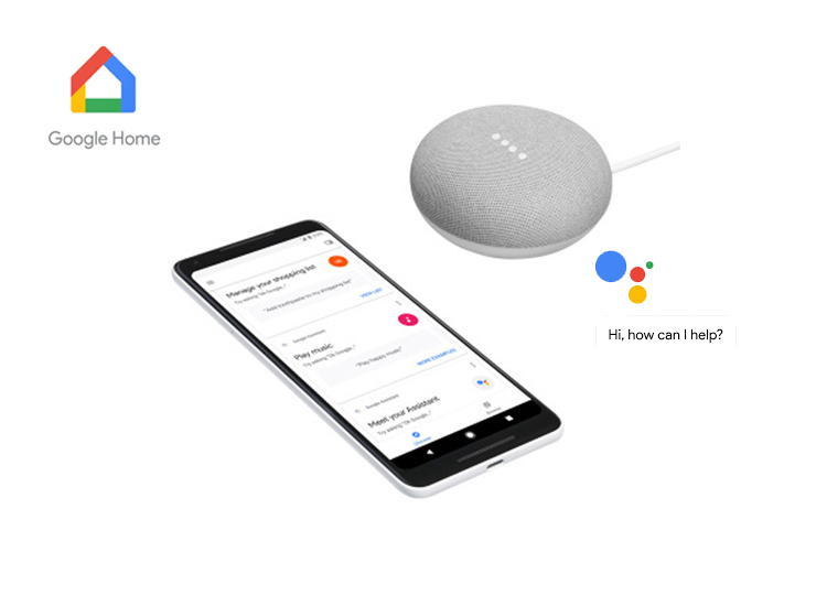 Deal Donkey - Google Home Mini - Assistant Mini Speaker - Ondersteunt Nederlands - Wit