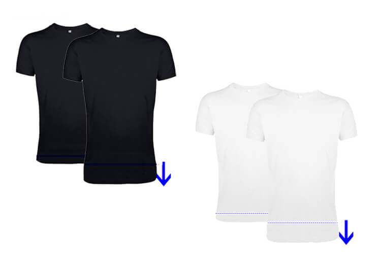 Deal Donkey - Long Fit T-Shirts Met Ronde Hals - 2 Pack