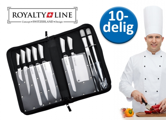 Deal Donkey - Royalty Line 10-Delige Koksmessenset