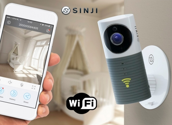 Deal Donkey - Sinji Smart Wifi Security Camera Met Night Vision