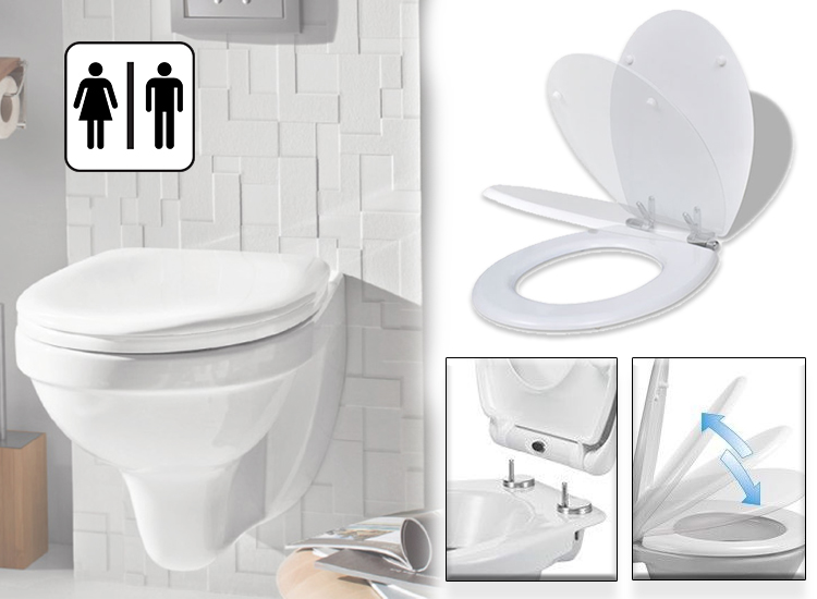 Deal Donkey - Toiletbril - Softclose & Quick Release