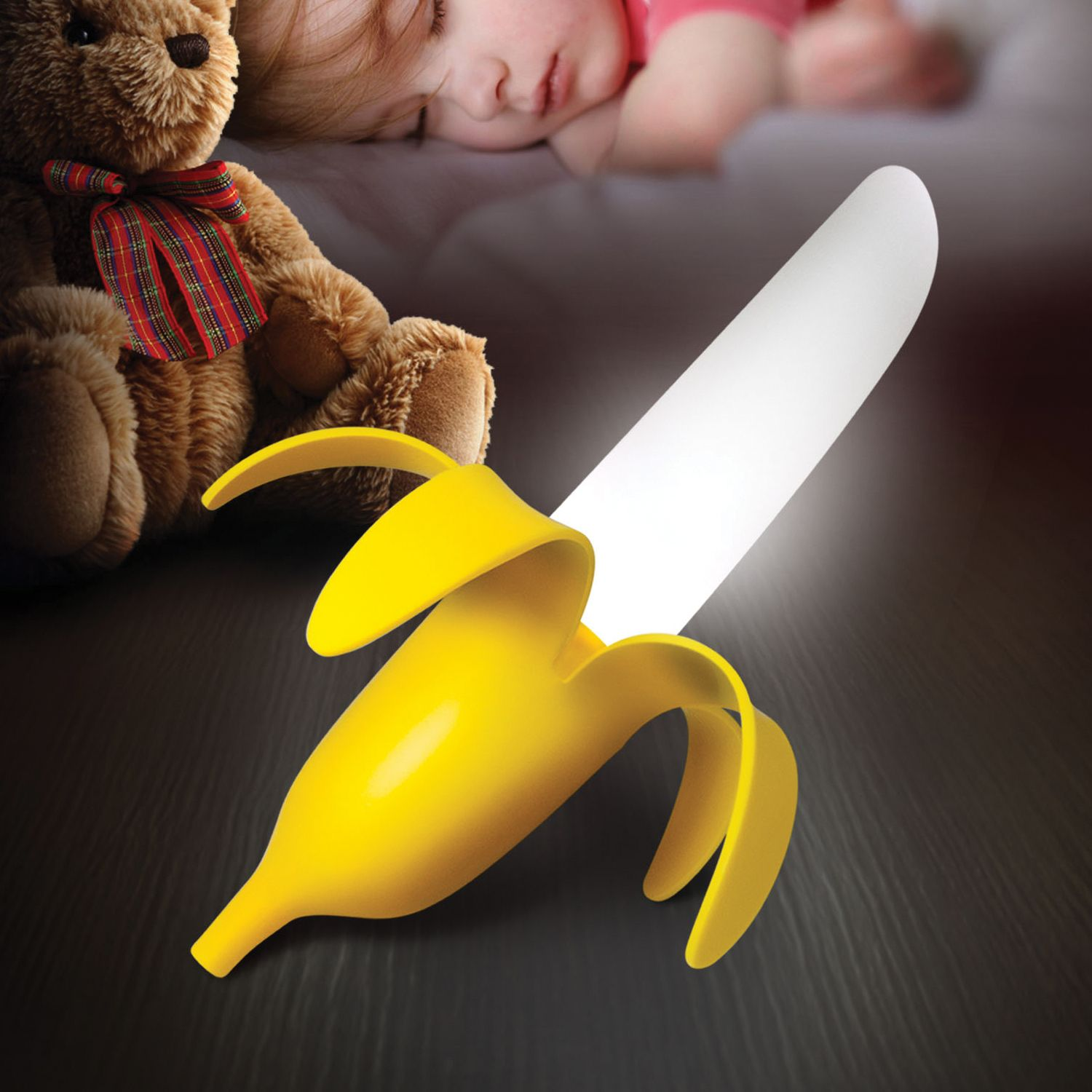Gadgetknaller - Banana Night Light