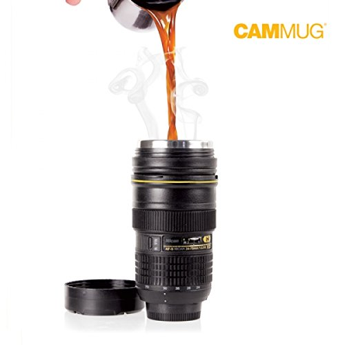 Gadgetknaller - Camera Lens Thermosbeker