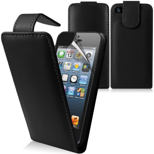 Gadgetknaller - Iphone Leren Flip Case