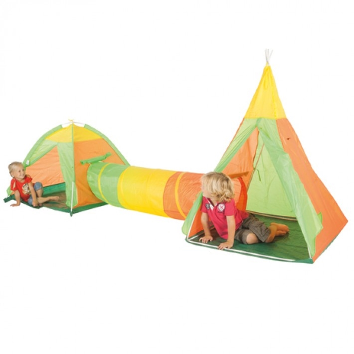 Gadgetknaller - Tent Kruiptunnel Set 3-In-1