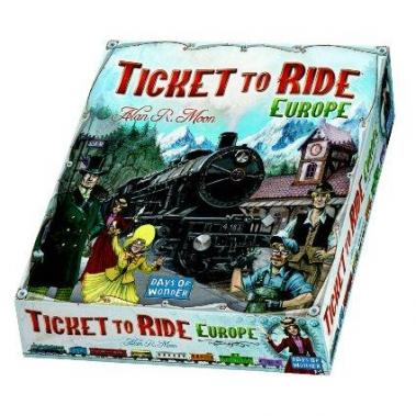 Gadgetknaller - Ticket To Ride Europe Bordspel