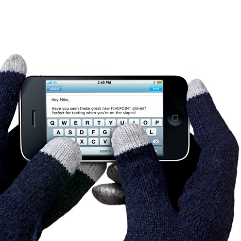 Gadgetknaller - Touchscreen Gloves