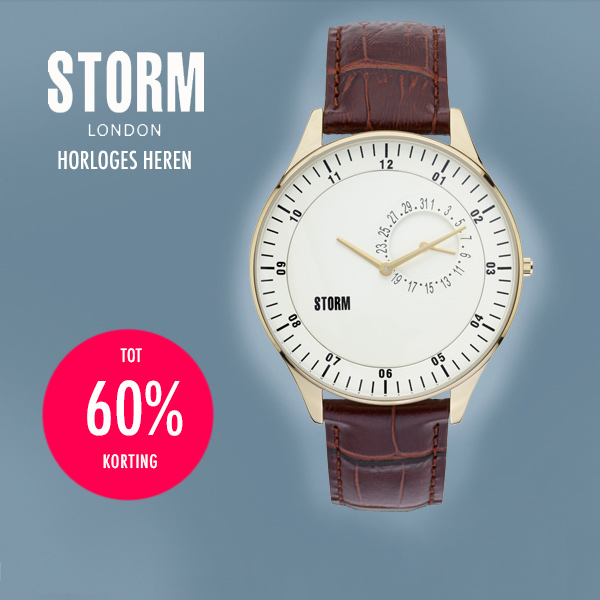 Goeiemode (m) - Storm London Horloges Heren