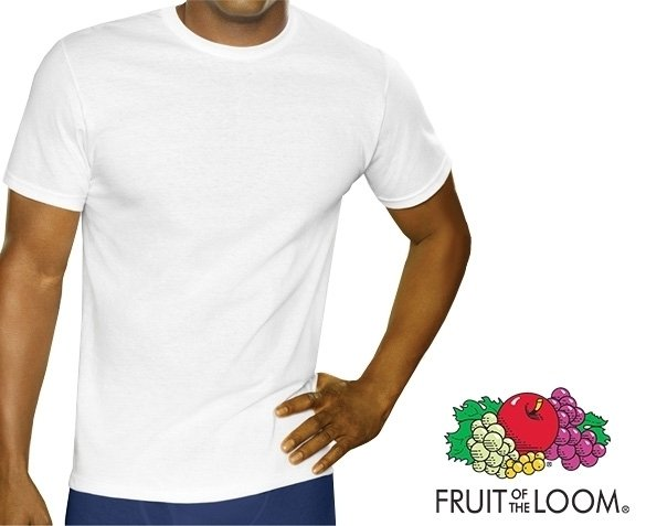 Groupdeal - 12-Pack Fruit of the Loom T-shirts