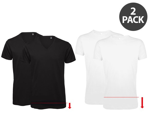 Groupdeal - 2-Pack Logostar T-Shirts