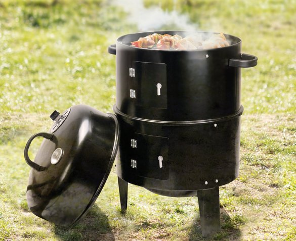 Groupdeal - 3-in-1 BBQ Smoker