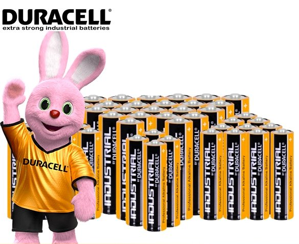 Groupdeal - 48-Pack Duracell Batterijen