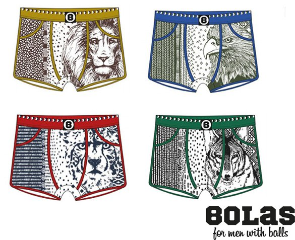 Groupdeal - 4-Pack Bolas Boxershorts