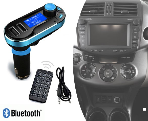 Groupdeal - 5-in-1 Bluetooth Carkit