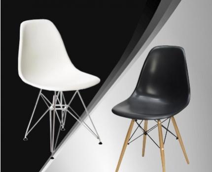 Eetkamerstoelen gebaseerd op design van eames dagelijkse for Design eetkamerstoelen eames