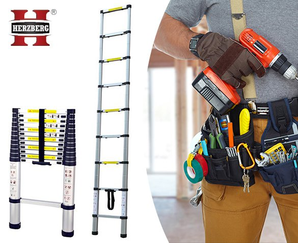 Groupdeal - Herzberg Telescopische Ladder