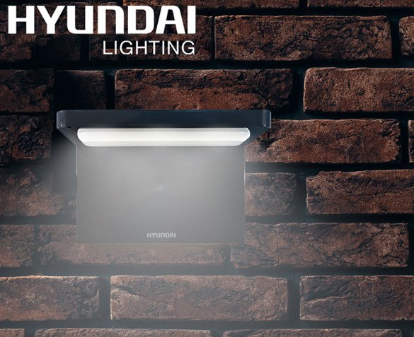 Groupdeal - Hyundai L-shape Solar Flat Light