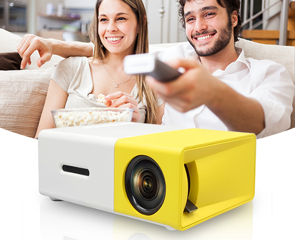 Groupdeal - Mini Led-Projector